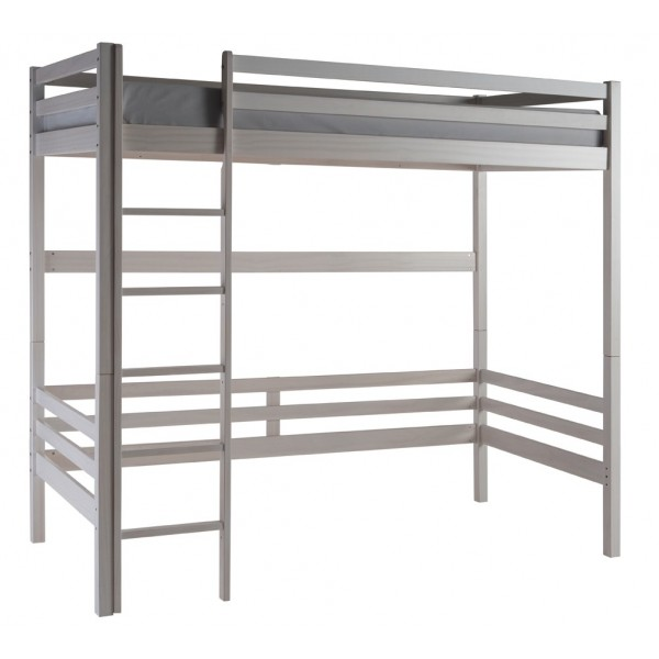 High sleeper bed papallona for Estructura cama alta